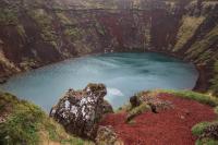 Vulkankegel Island
